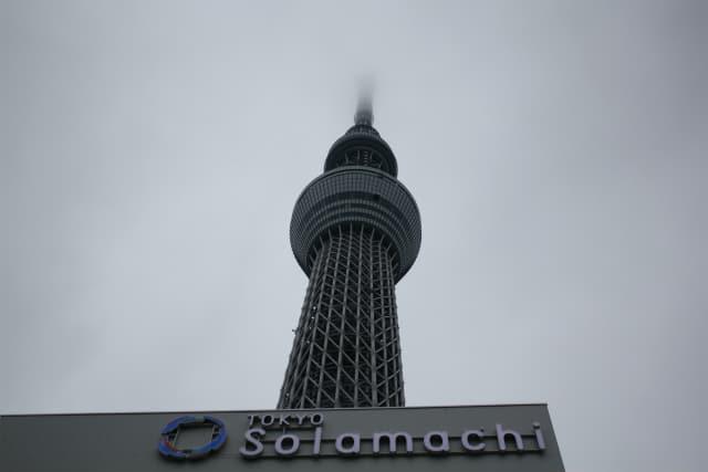東京スカイツリーに登ってきましたよ