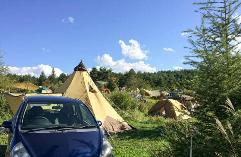 無印良品のカンパーニャ嬬恋で草原キャンプ(9/13~15)